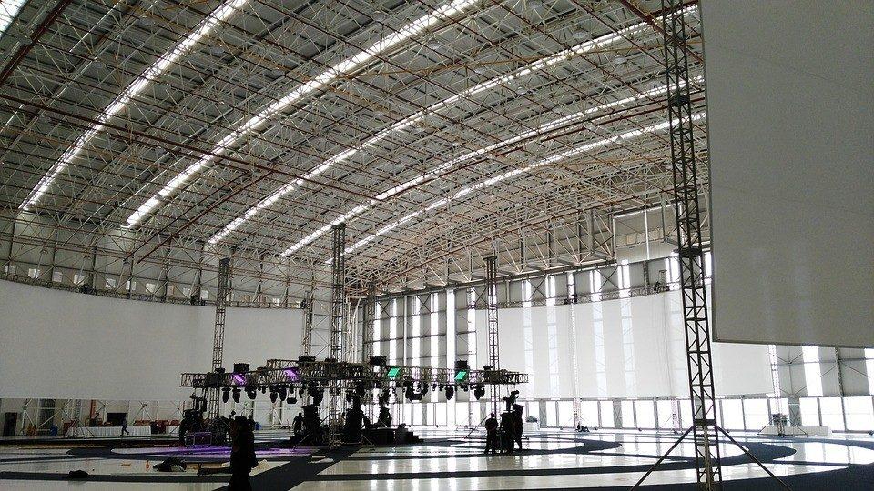 As dificuldades na pintura de hangar